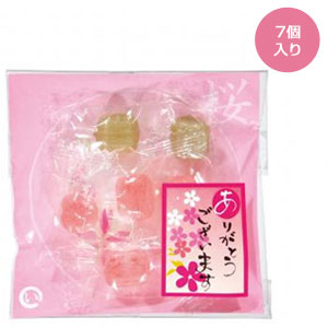 あめいろこづつみ 桜のど飴