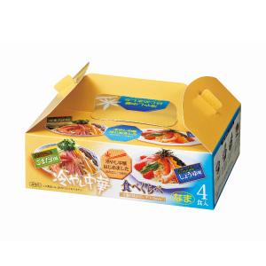 冷やし中華食べくらべ4食組