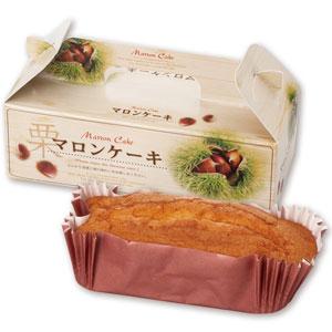 ふんわりマロンケーキ