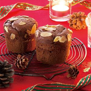 クリスマス チョコマフィン2個組