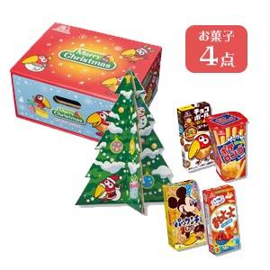 キョロちゃんクリスマス引出しお菓子BOX