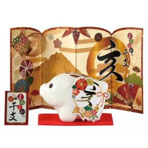 よろこびの干支石鹸(亥)65g