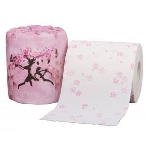 桜トイレットプリントロールダブル(30m)