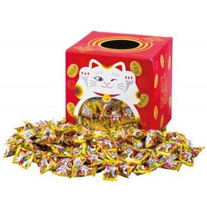 招き猫のおみくじキャンディすくいどり100人用
